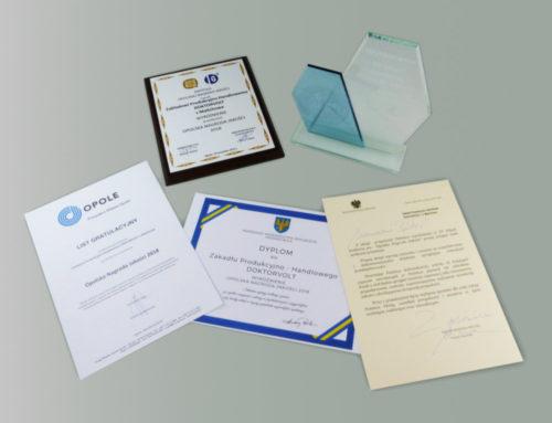"15th edition of the ""Opolska Nagroda Jakości"""