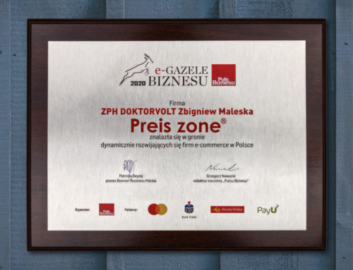 Preis-Zone with the title of Business e-Gasel 2020
