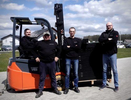 Mamy nowych operatorów wózków widłowych!