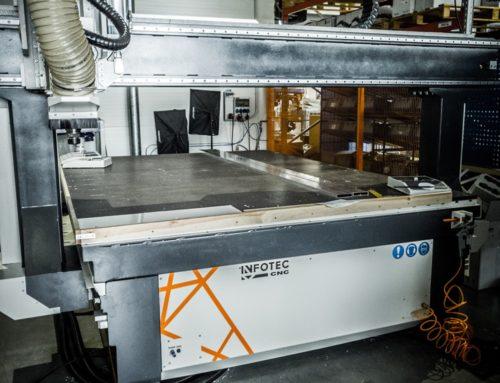 Przyspieszamy proces produkcji w naszej firmie dzięki MASZYNIE CNC